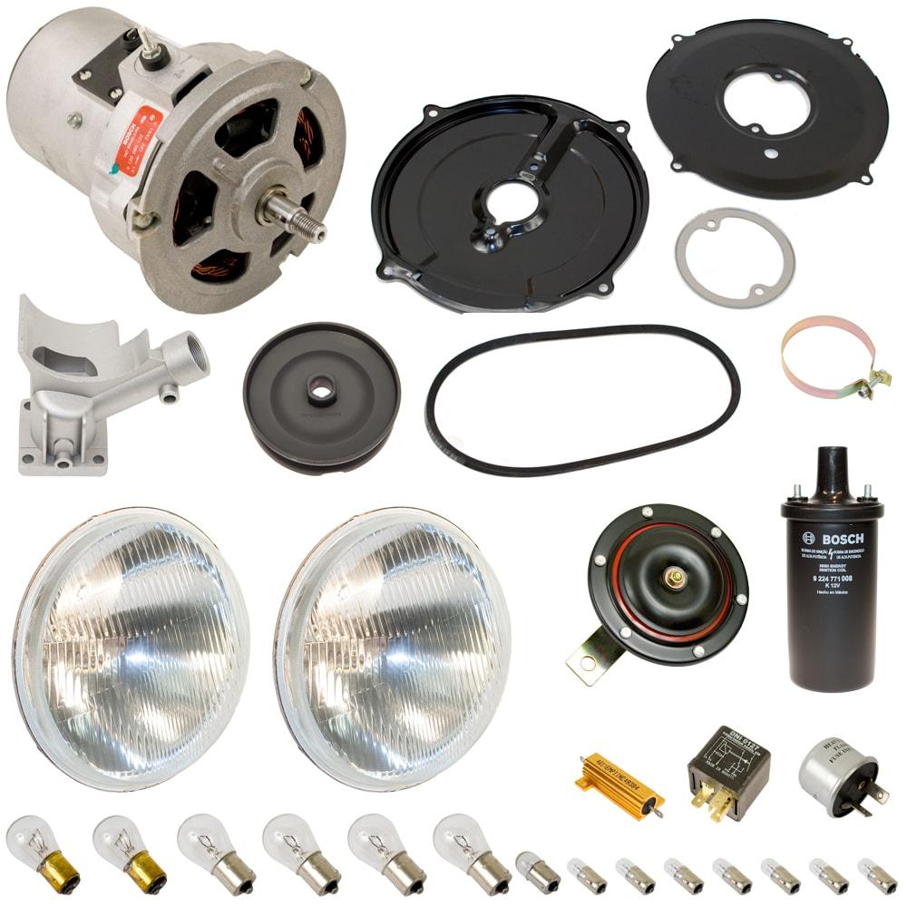 12 Volt Conversion Kit With Bosch Alternator