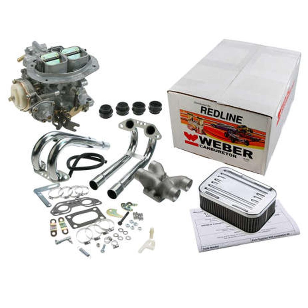 Weber 32 36 Dfav Progressive Single Carburetor Conversion Kit For T 4 Classic Vw Parts For Beetle Bus Ghia Thing Type 3