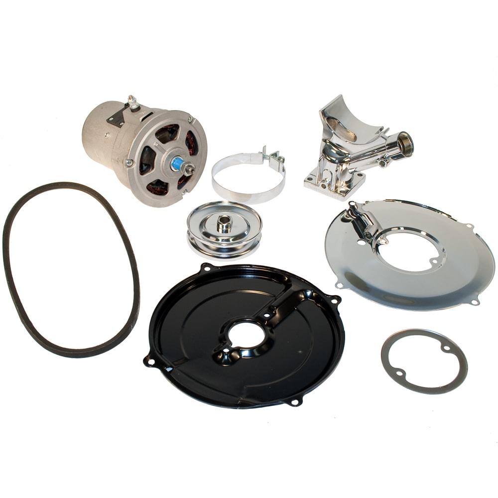 12 Volt Alternator Conversion Kit  55 Amp  Natural