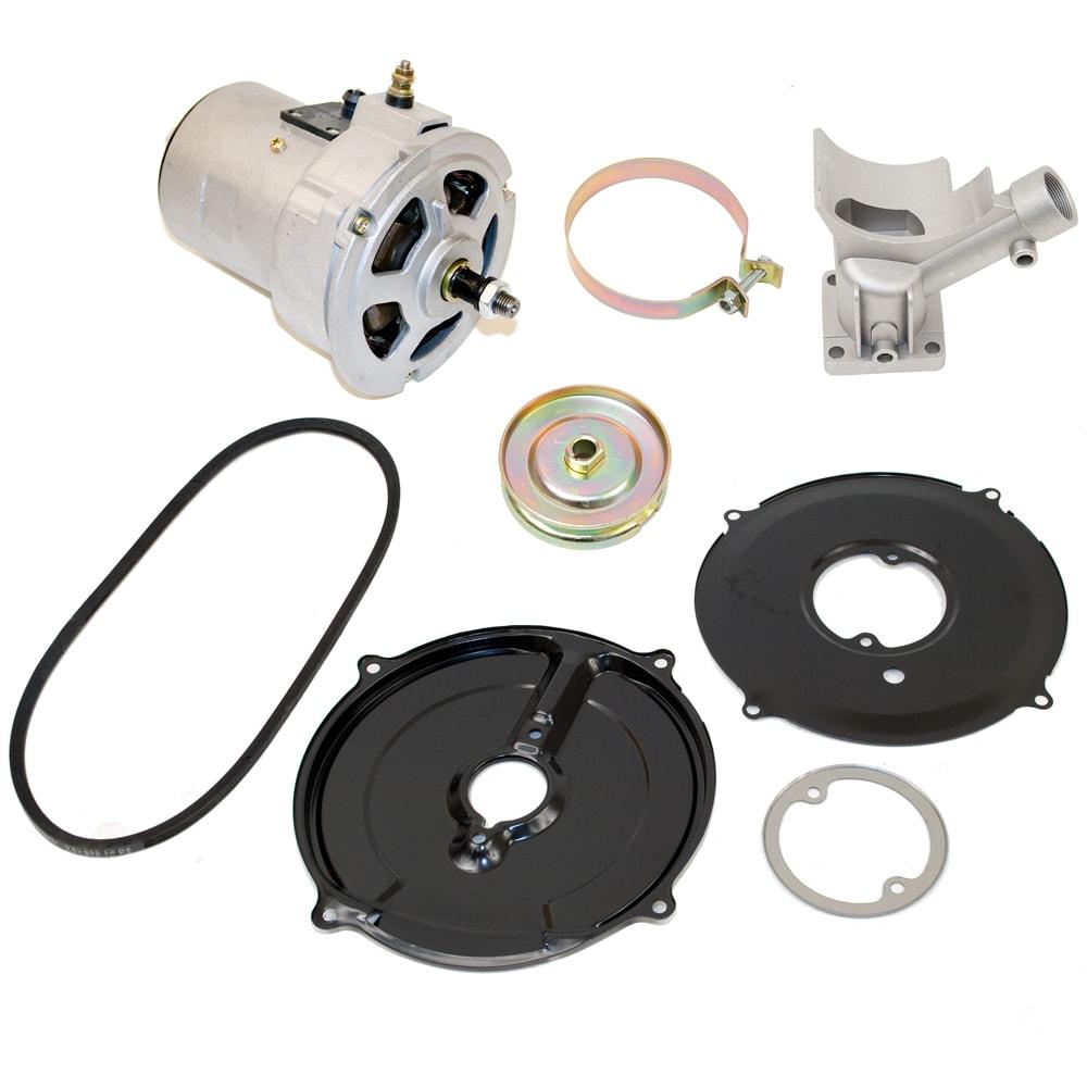 Diagram Vw Alternators And Vw Alternator Conversion Kits Vw Parts